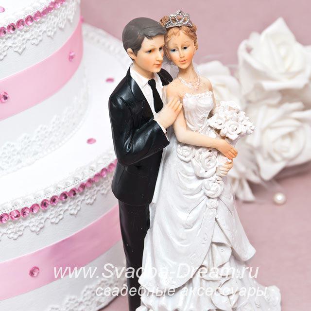 Жених и невеста на торт фото