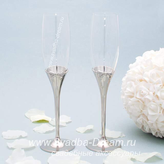 Мастер-класс свадебные фужеры