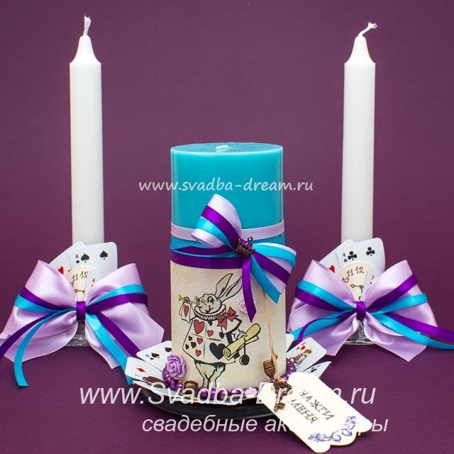 Свечи в подарок на свадьбу 80