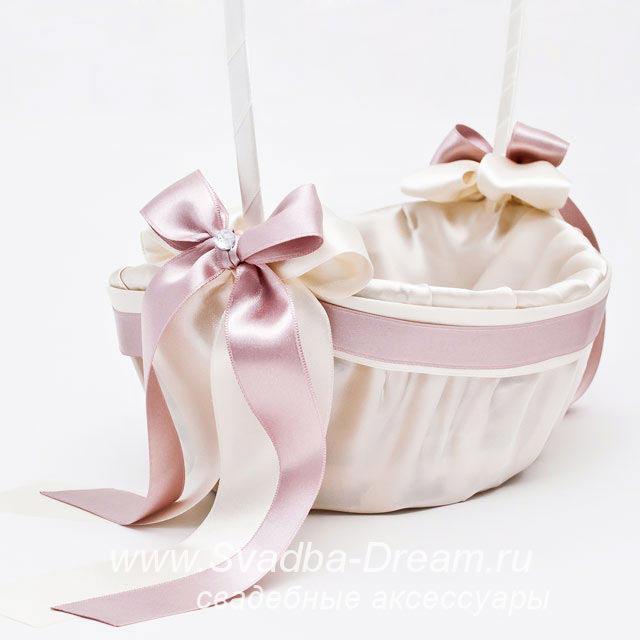 Корзина для лепестков роз на свадьбу своими руками