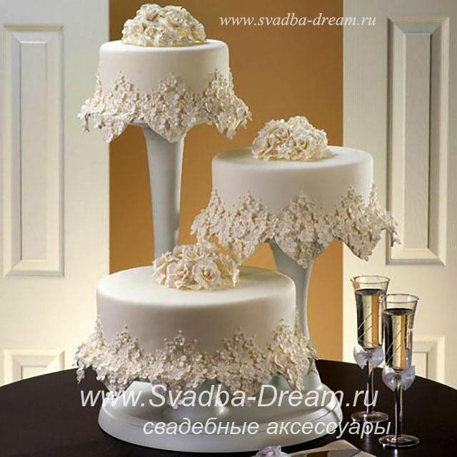 Подставки для тортов свадебных