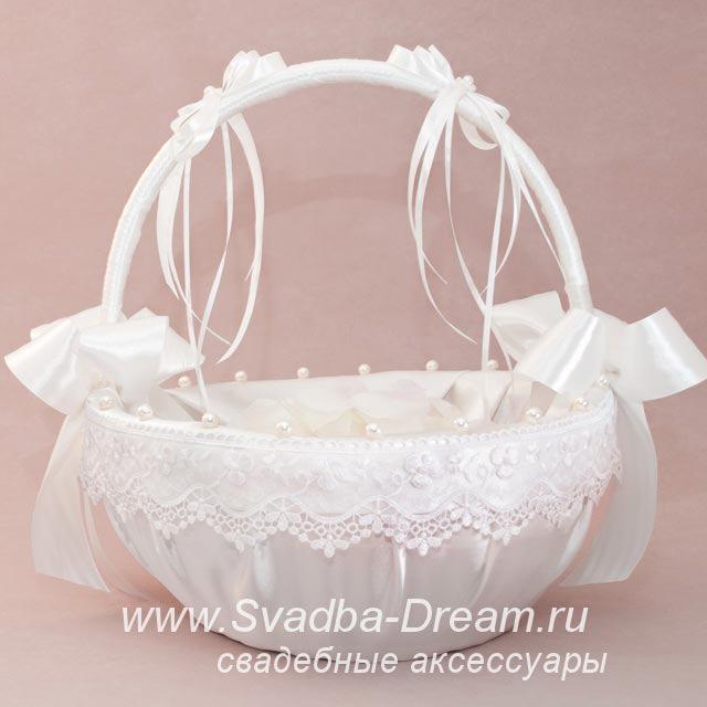 Своими руками корзина на свадьбу для лепестков роз