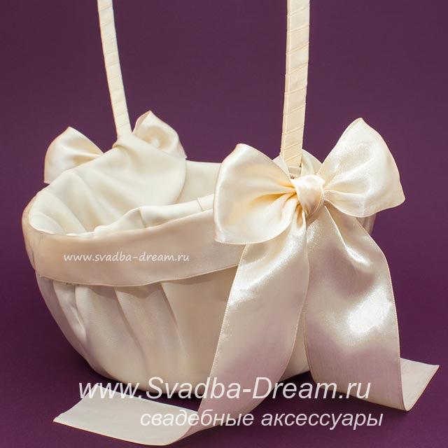 Украсить корзину на свадьбу своими руками