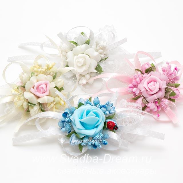 Цветы на свадьбу для гостей своими руками 24