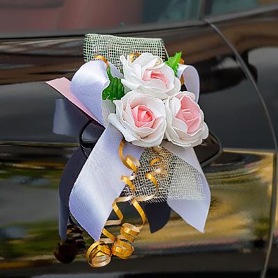 Как сделать украшение на свадебную машину своими руками (фото) 82