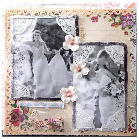 Фотоальбомы свадебный своими руками