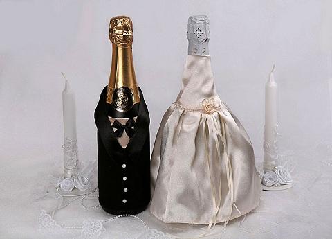 Бутылка шампанского своими руками мастер класс