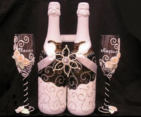 Для шампанского своими руками фото