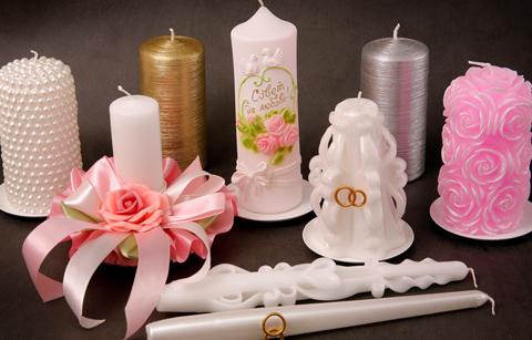 Свадебная свеча своими руками фото