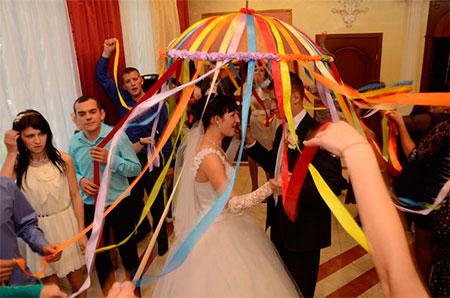 Конкурс на свадьбе с 3 стаканами